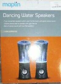 MAPLINS DANCING WATER SPEAKERS