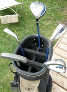 Youth Teen 6 Piece PING MOXIE Left Hand Golf Set / Golf Bag VGC