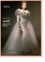 European mermaid bridal gown by Diva