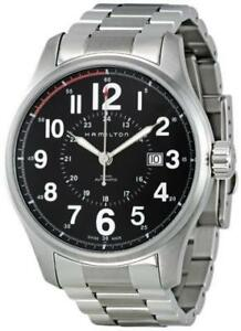 BRAND NEW Hamilton H70615133 Khaki Field Officer AUTO NO TAX