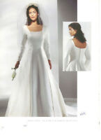 Plus size wedding gown#075 by Bonny