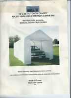 12 x 28 Costco Shelter