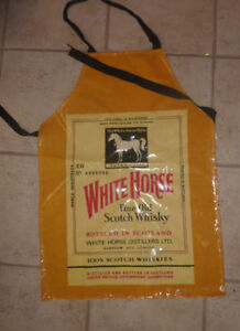 White Horse Fine Old Whiskey apron Kitchener / Waterloo Kitchener Area image 1