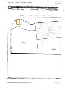 less then an acre land for sale in Gatineau