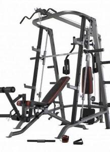 Liquidation 7 smith machine cage squat rack ( fermeture ) bowfle