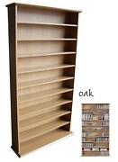 Large Oak Bookcase