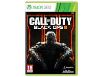 xbox 360 game call of duty black ops 3 £15.00/call of duty black ops 2 and 3 £27.00