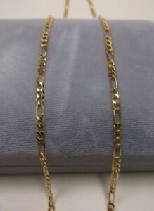 18K Gold Filled Figaro Chain Necklaces 1.5mm – 22 inch