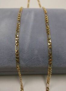 18K Gold Filled Figaro Chain Necklaces 1.5mm – 20 or 22 inch