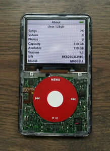 Ipod Classic Video updated to 128gb ssd