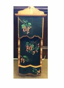 Large Wooden Clock - can paint over or leave as it - $10