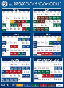 Jays tickets for all games - Sct 114- Row 19 ( 4 in a row)
