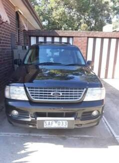 2002 Ford Explorer Nunawading Whitehorse Area Preview