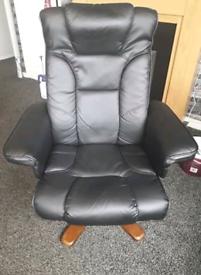 Chair reclining swivel