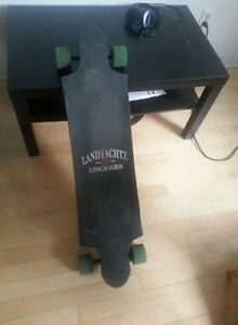 Longboard LandYatchz - Time machine DeLorean