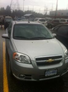LOW KM 2011 Chevy Aveo FOR SALE!!!