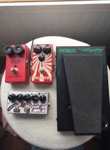 MXR/Analogman/Morley/ZVex Guitar Pedal/Pédales de guitare