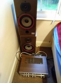 technics radio and speakers