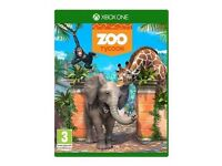 ZOO TYCOON - XBOX ONE USED ONCE - PAID £28 LOOKING FOR £20