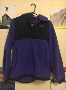 Northface quarter zip with hood