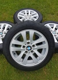 "16"" GENUINE STANDARD BMW 3 SERIES STYLE 156 ALLOY WHEELS E90 E91 E92 E93"