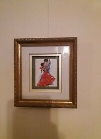 Gilt Frame Picture