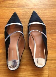 Tony Bianco black kid suede flats size 39 Yowie Bay Sutherland Area Preview