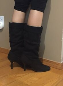 THE    BRAND NEW LADIES SUEDE BOOTS FOR SALE