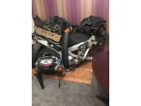 kawasaki zzr 400 600 parts for sale or swaps for 125