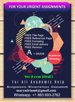 Research Writing- Essay Writing- Academic Help- Proofreading