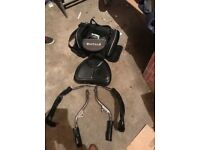 Honda goldwing backseat and arm rests & side bag