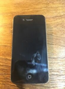 iPhone 4S Black - 16GB - Broken back plate