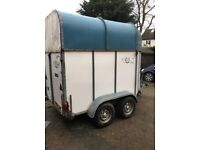 Rice continental horse trailer