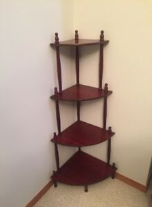 BEAUTIFUL   VINTAGE CORNER SHELVES FOR SALE