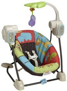 Fisher-Price - Spacesaver Swing, Luv U Zoo Oakville / Halton Region Toronto (GTA) image 1