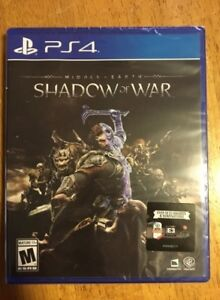 Middle Earth - Shadow of War - PS4 video game