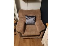 Large corner sofa, foot stall and electric arm chair