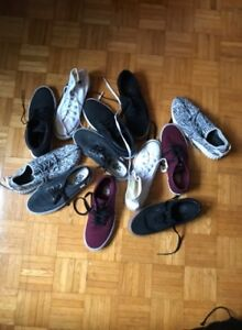 8.5-9.5 SHOE LOT! all either worn 1-2 times!