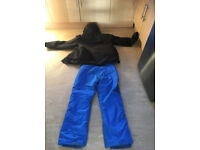 campri skiing jacket and trousers