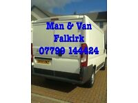 Man With a Van - Great Rates - Falkirk & Further