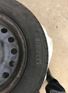 Pirelli P4 pour KIA RIO! pneu d'été **moins de 2000km d'usure**