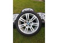 """GENUINE BMW 3 SERIES E90 E91 E92 E93 STYLE 194M M SPORT 17"""" ALLOY WHEELS"""