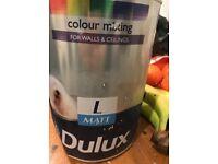 Dulux Paint 2.5 L Matt emulsion (see pictures )