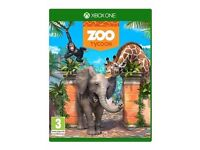 XBOX ONE ZOO TYCOON USED ONCE - PAID £28 LOOKING FOR £20
