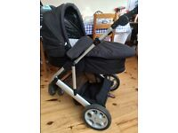 mamas and papas zoom bugg with carry cot