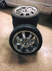 "17"" rims and tires"