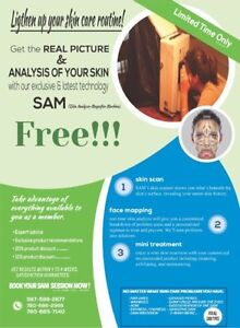 Skin Analysis for you & your friends!!All for FREE!!!