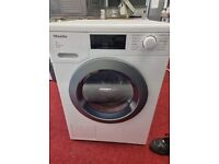 Graded MIELE 8KG white washer dryer wifi enabled with 24 months warranty