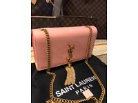 YSL pink patent leather bag brand new