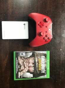 X Box One - 2TB harddrive, COD WWII and Controller